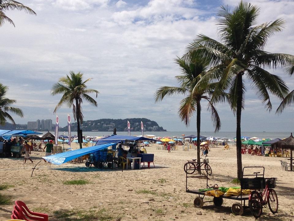 Praia da Enseada no Guaruja SP - Praias do Guarujá